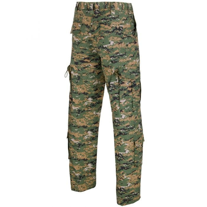 MFH ACU Combat Trousers Ripstop Digital Woodland