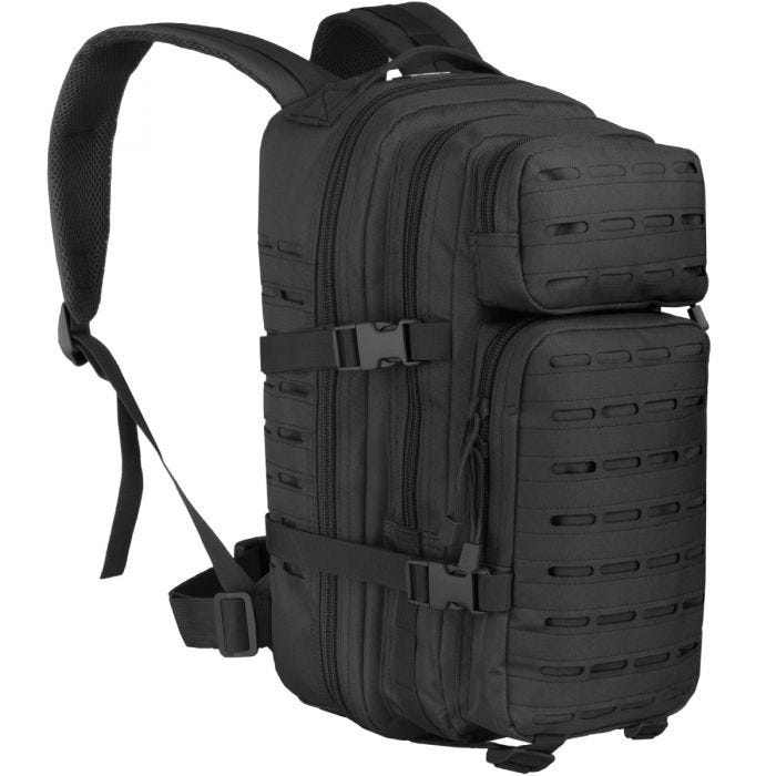 MFH Assault I Backpack Laser Black