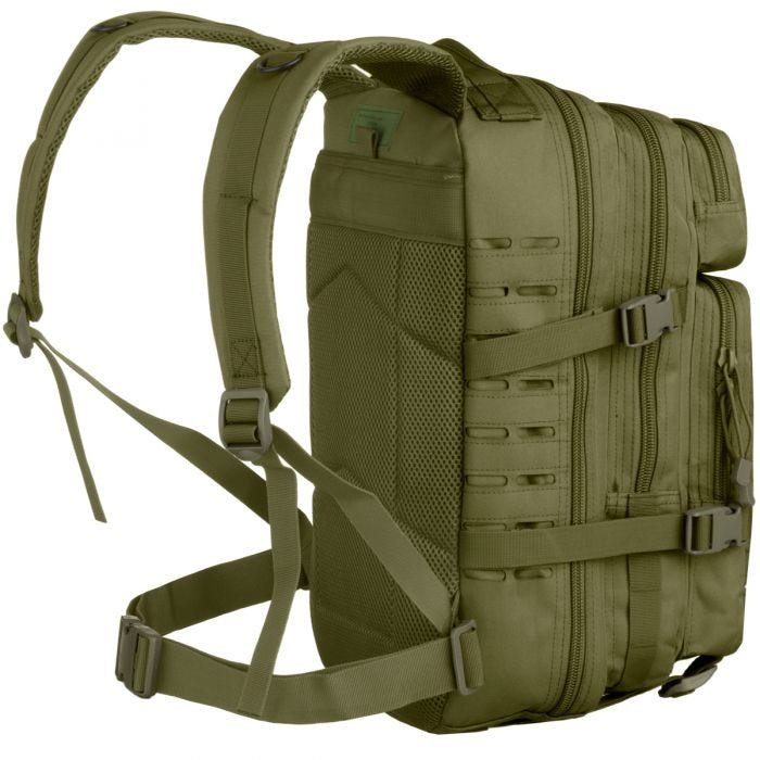 MFH Assault I Backpack Laser OD Green