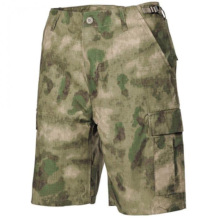 MFH US BDU Bermuda Shorts HDT Camo FG