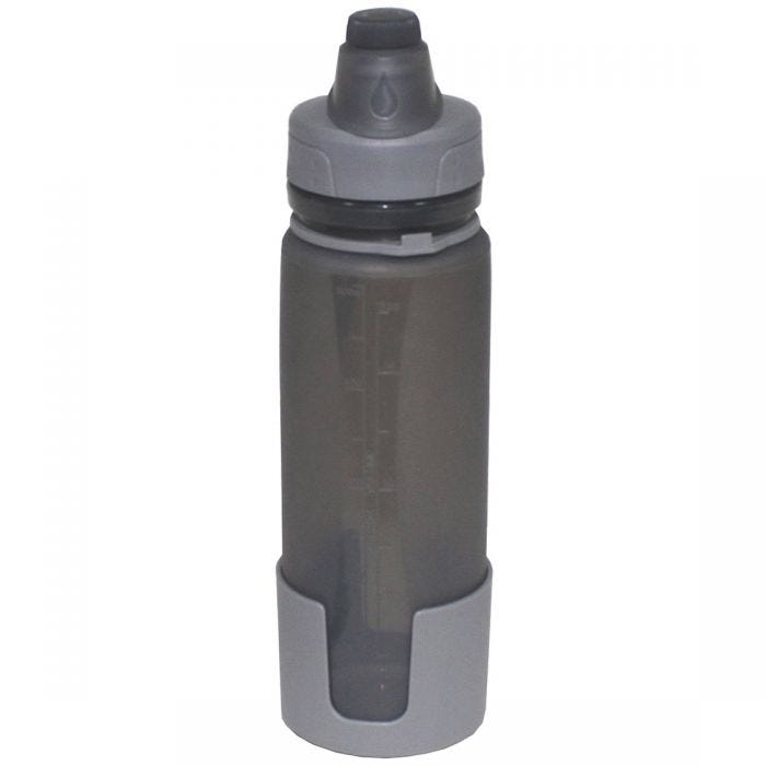Fox Outdoor Foldable Drinking Bottle Grey