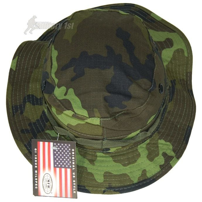 GI Ripstop Bush Hat Czech Woodland