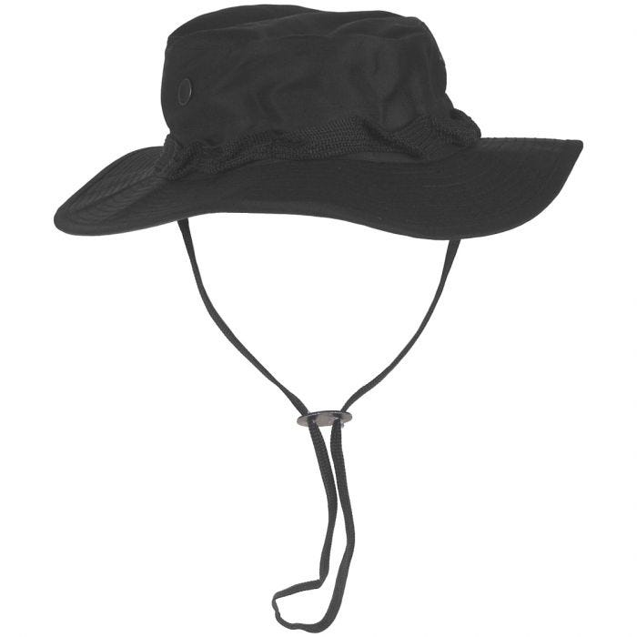 GI Ripstop Bush Hat Black