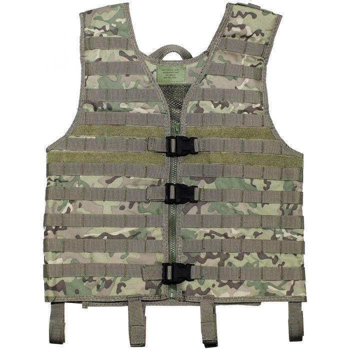 MFH Vest MOLLE Light Operation Camo