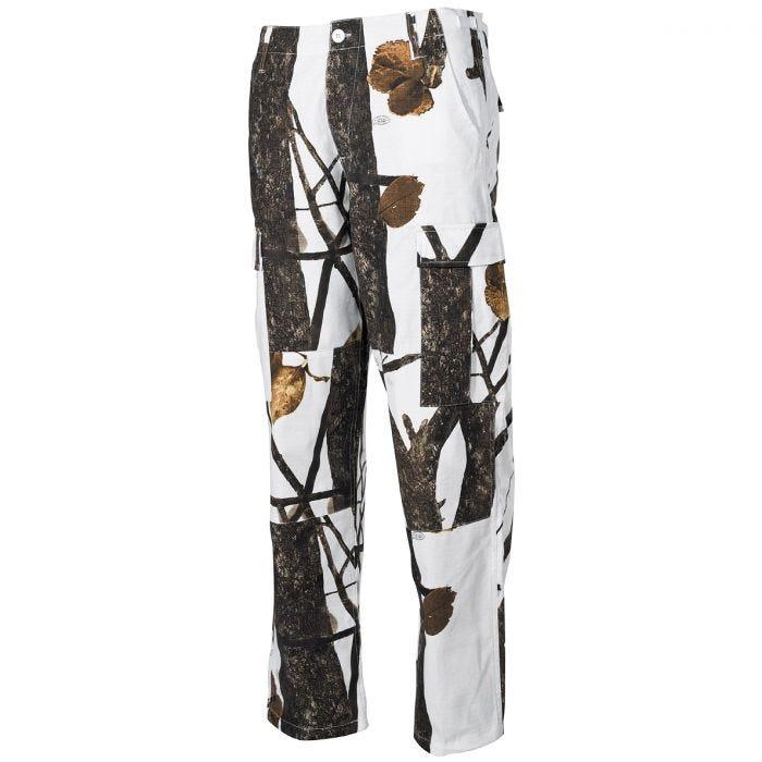 MFH BDU Combat Trousers Ripstop Hunter Snow