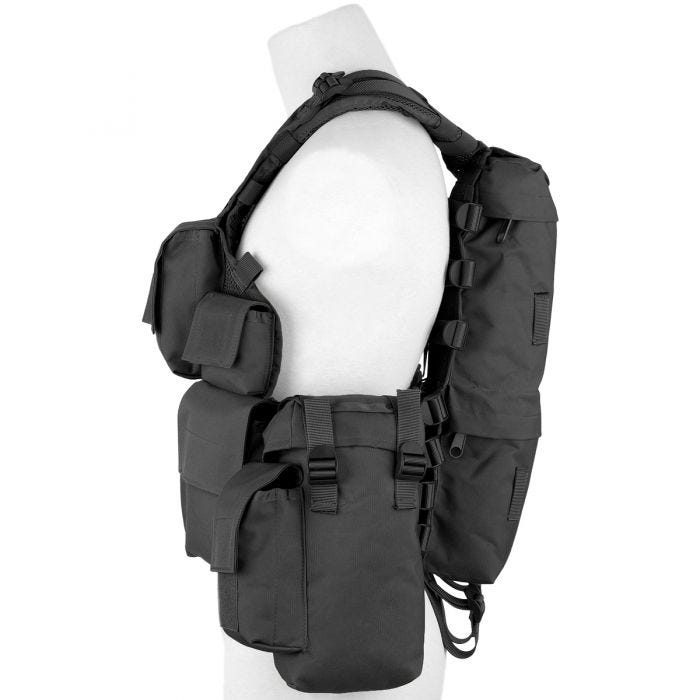 MFH South African Assault Vest Black