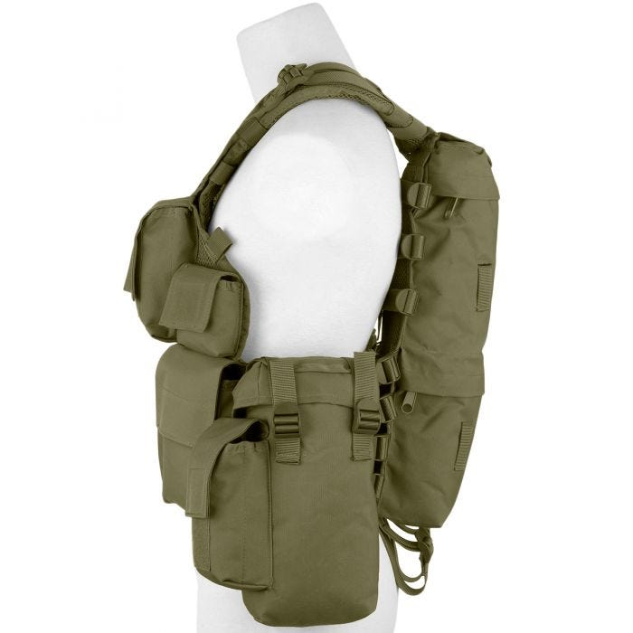 MFH South African Assault Vest OD Green