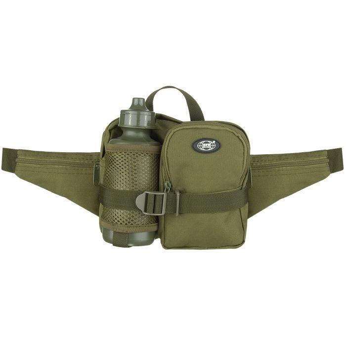 MFH Waist Bag with Bottle OD Green