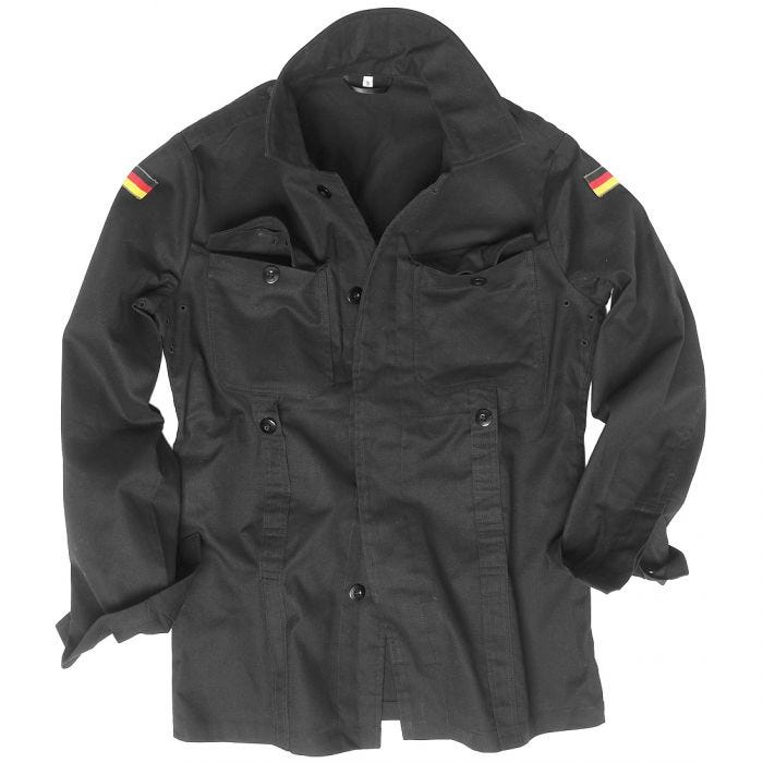 Mil-Tec BW Moleskin Jacket Black