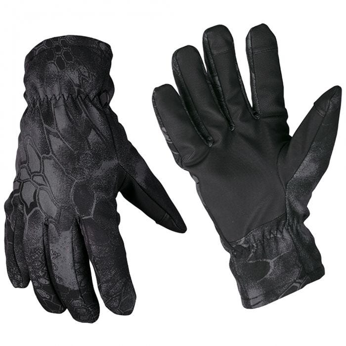 Mil-Tec Softshell Thinsulate Gloves Mandra Night