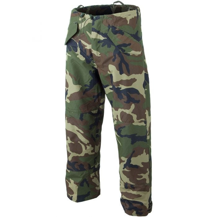 Mil-Tec Wet Weather Trilaminate Trousers Woodland