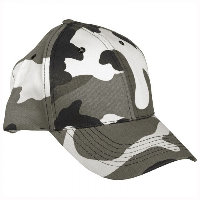 Mil-Tec Baseball Cap with Plastic Band Urban