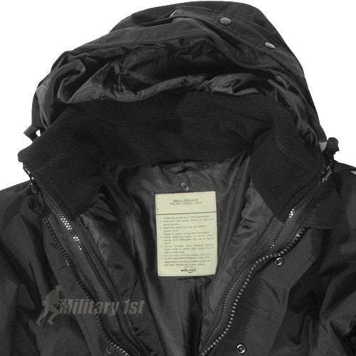 Mil-Tec ECWCS Jacket with Fleece Black