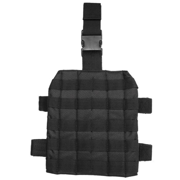 Mil-Tec Leg Panel MOLLE Black