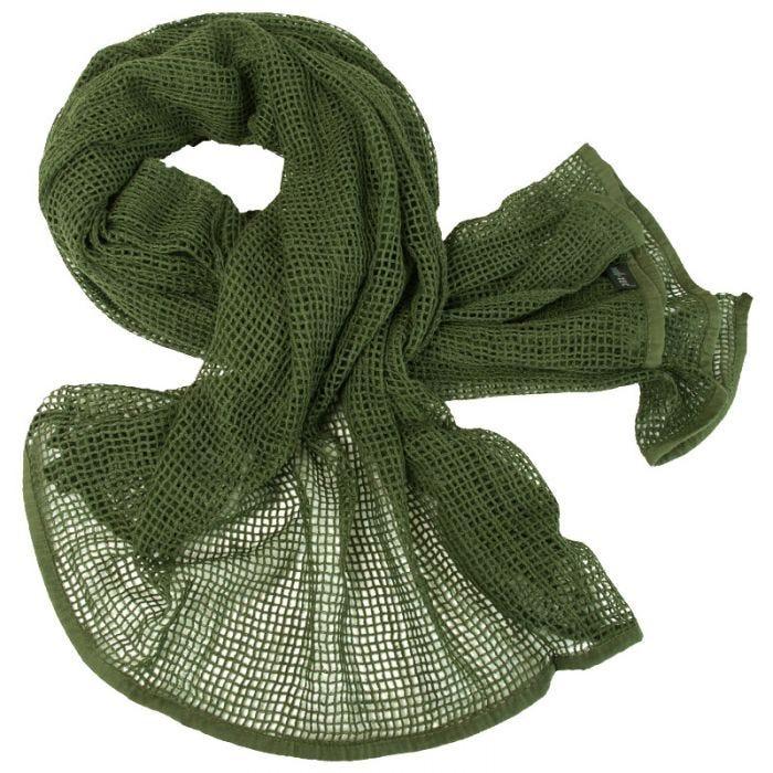 Mil-Tec Net Scarf Olive