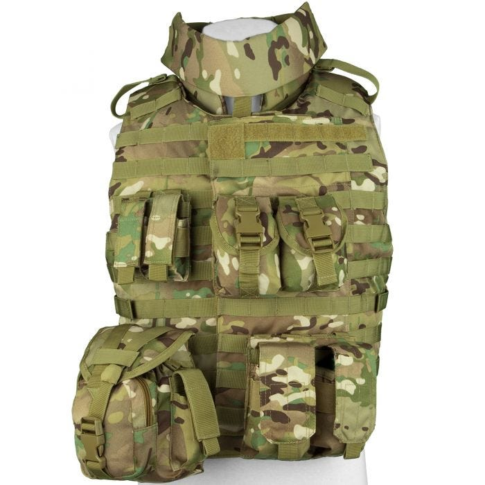 Mil-Tec OTV Outer Tactical Vest Multitarn