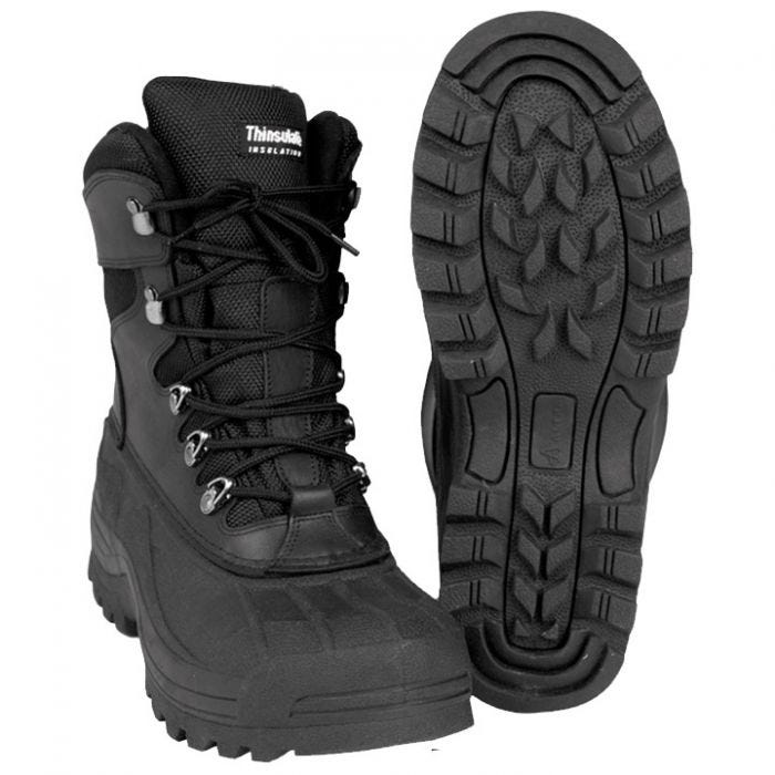 Mil-Tec Thermal Boots Black