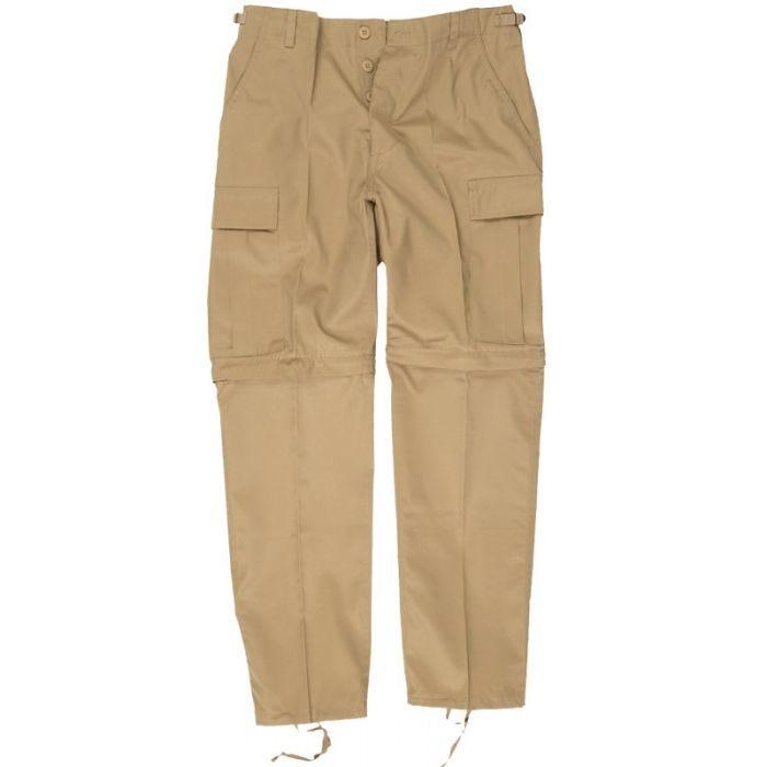 Zip-Off Combat Trousers Khaki