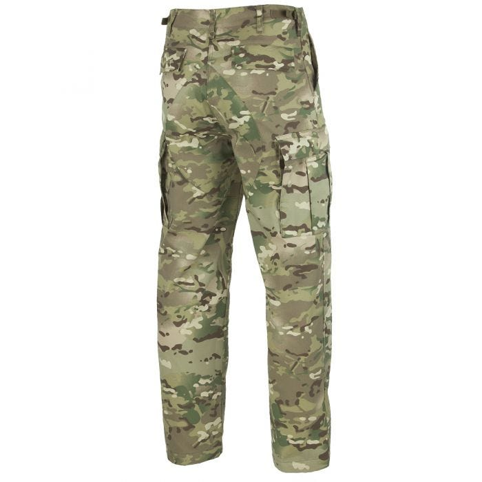 Mil-Tec BDU Combat Trousers Multitarn