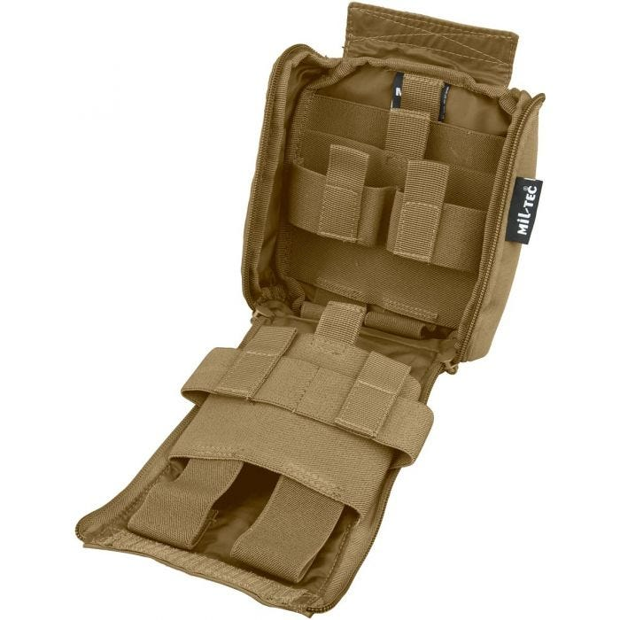 Mil-Tec IFAK Pouch 25-Pieces Laser Cut Dark Coyote