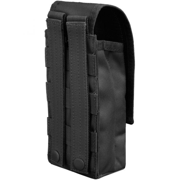 Mil-Tec Single AK47 Magazine Pouch MOLLE Black