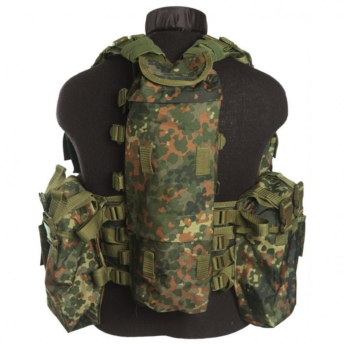 Mil-Tec South African Assault Vest Flecktarn