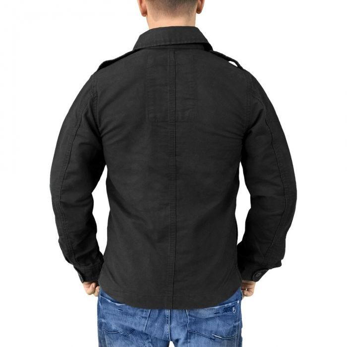 Surplus Heritage Vintage Jacket Black