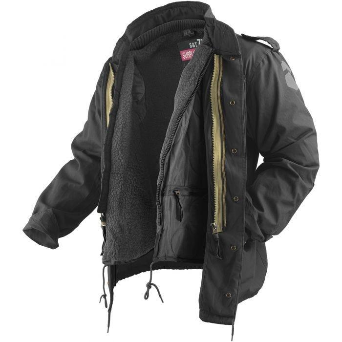 Surplus M65 Regiment Jacket Black
