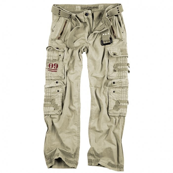 Surplus Royal Traveler Trousers Royal White