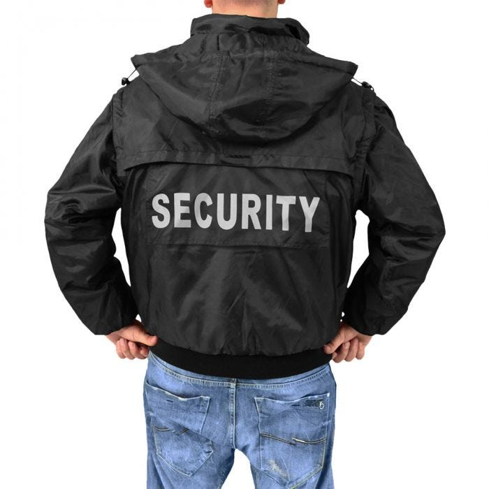 Surplus Security Jacket Black
