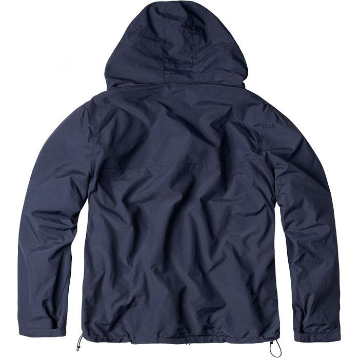 Surplus Windbreaker with Zipper Navy