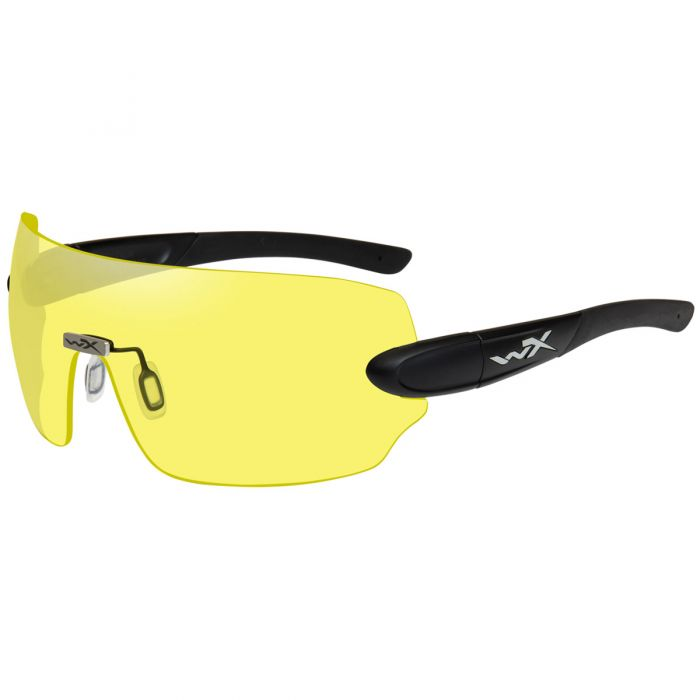Wiley X WX Detection Glasses - Yellow + Orange + Purple Lens / Matte Black Frame
