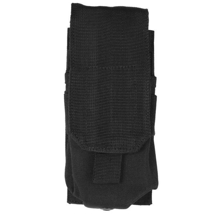 Mil-Tec Single M4/M16 Magazine Pouch MOLLE Black