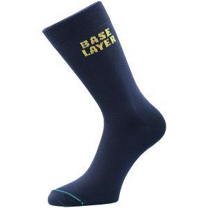 1000 Mile Tactel Base Layer Sock Navy