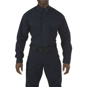 5.11 Stryke TDU Shirt Long Sleeve Dark Navy