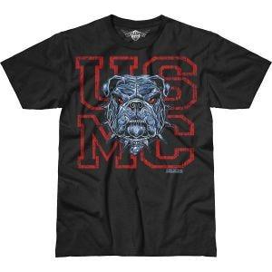 7.62 Design USMC Dress Blue Bulldog Battlespace T-Shirt Black