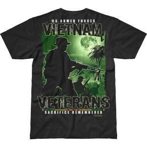 7.62 Design Vietnam Veterans Remembered Battlespace T-Shirt Black