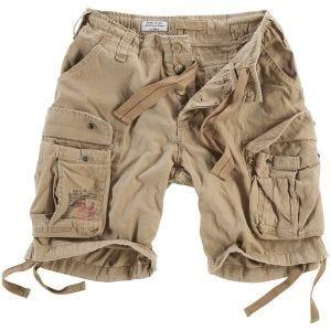 Surplus Airborne Vintage Shorts Washed Beige
