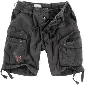 Surplus Airborne Vintage Shorts Washed Black