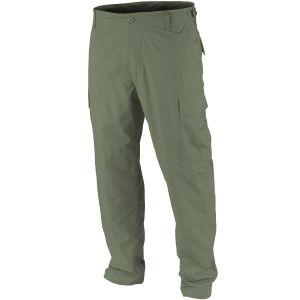 Teesar BDU Trousers Ripstop Prewashed Olive