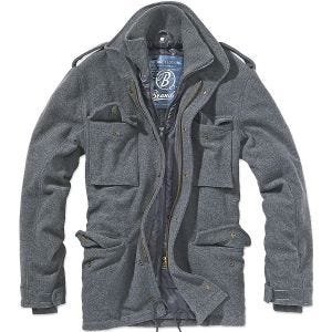 Brandit M-65 Voyager Wool Jacket Anthracite