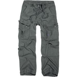 Brandit Pure Vintage Trousers Anthracite