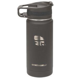 Earthwell Roaster Loop Vacuum Bottle 473ml Volcanic Black