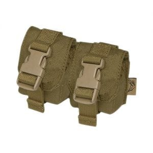 Flyye Double Fragmentation Grenade Pouch Coyote Brown