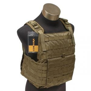 Flyye MOLLE Style PC Plate Carrier Coyote Brown