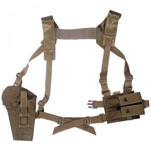 Flyye Shoulder Holster System Panel MOLLE Coyote Brown