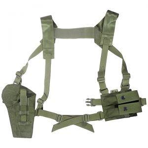 Flyye Shoulder Holster System Panel MOLLE Ranger Green