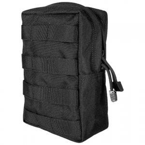 Flyye Vertical Accessories Pouch MOLLE Black