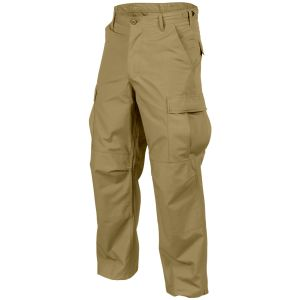 Helikon Genuine BDU Trousers Polycotton Ripstop Coyote