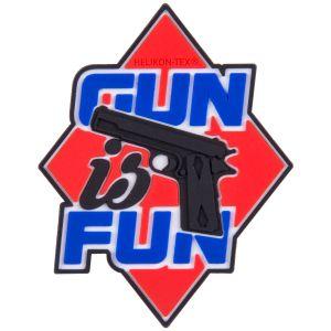 Helikon Gun is Fun Patch Red